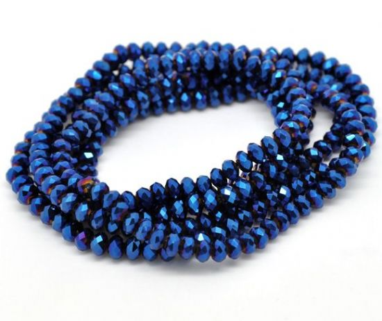 Blue Crystal Beads